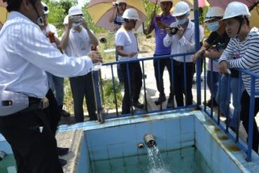 Cung cấp nước sạch cho người dân quanh vùng La Ngà