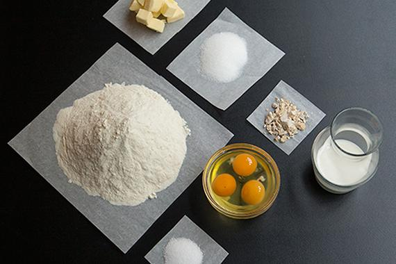 Phụ liệu làm bánh